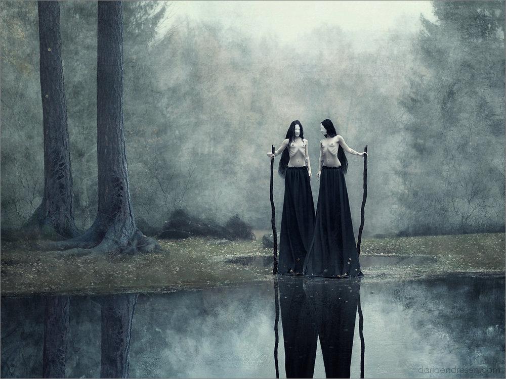 daria endressen, fotomanipulación, brujas