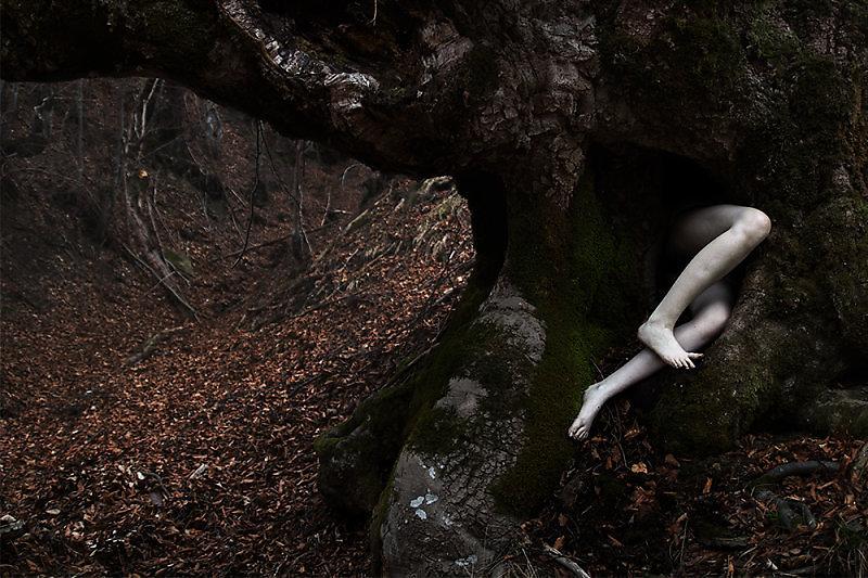 elena helfrecht, fotomanipulación, pesadillas