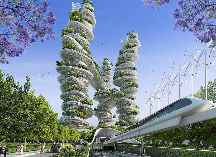 Los diseños de Vincent Callebaut son un gran ejemplo de lo que la arquitectura debe oponer contra los efectos del antropocentrismo.