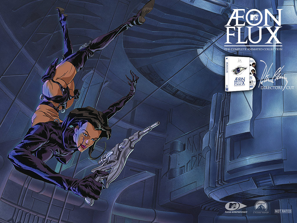 """Aeon Flux"" MTV ""90´s TV shows"" comics ""Animated series"" Oddities ""Peter Chung"" ""Sam Keith"" ""The Maxx"""
