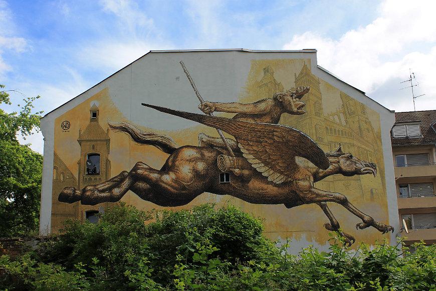 """Wild Drawing"" Muralist ""Street Artist"" ""Urban Artist"" streetart mural grafitti surreal fantasy ""Social criticism"" ""Contemporary art"""