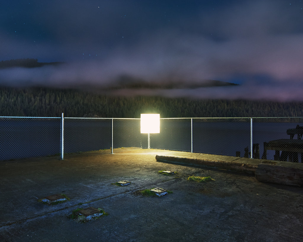 """Benoit Paille"" photography art fascinating chiaroscuro surreal ""abandoned landscapes"" colorful light dystopia"