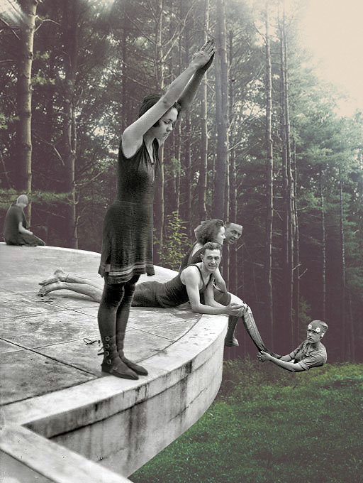 """Merve Ozaslan"" ""Natural act"" ""Digital collage"" ""vintage photography"" photography photomanipulations photoshop creative art amazing surreal"