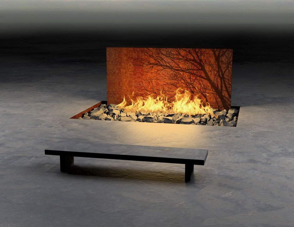 """Fire features"" ""by Elena Colombo"" ""interior design"" ""contemporary architecture"" decoration ""decorative fireplace"""
