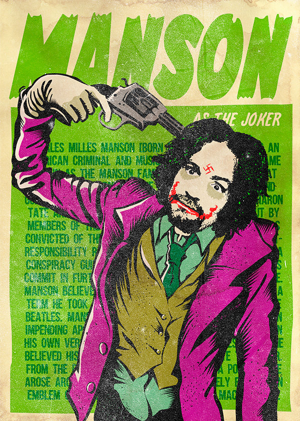 """The Legion of real life Supervillains by Butcher Billy"" parody comics ""social criticism"" artist illustrator photoshop photomanipulation history ""iconic photos"""