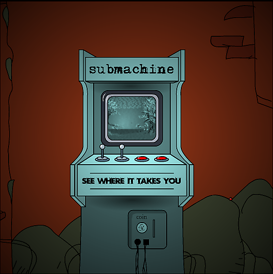 """Submachine by Mateusz Skutnik"" artist illustrator designer ""point and click"" ""escape the room"" ""online videogame"" adventure ""solve mystery"" puzzle scifi dystopian"