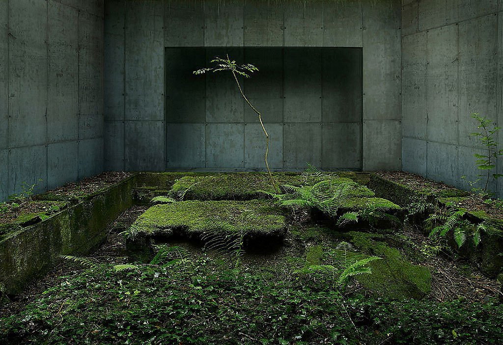 """Gioberto Noro"" ""concrete illusions"" ""visual effects"" contemporary architecture photoshop dystopian photomanipulations ""abandoned places"" ""surreal art"" photography"