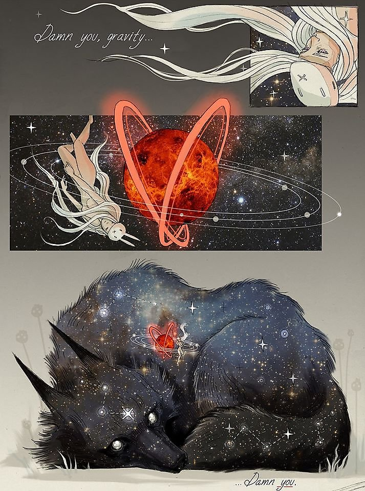 """""""illustrations by Chiara Bautista"""" surreal beautiful colorful talented drawings about heartbreaking love"""