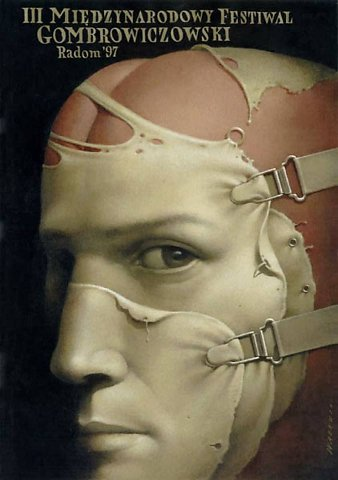 Wieslaw Walkuski polish graphic designer painter surreal posters contemporary art mystery horror gore