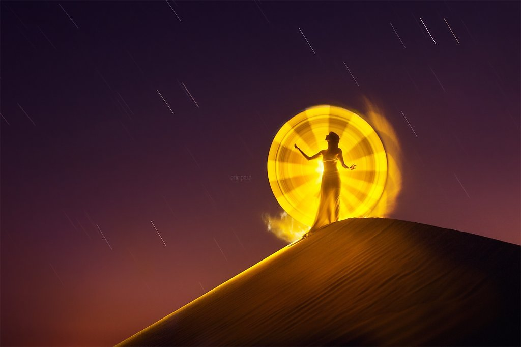 """Eric Paré """"Signs of light"""" series photographer light painting tubes photography bullet time stop motion amazing beautiful surreal photos"""