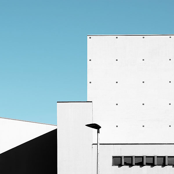 Giorgio Stefanoni Unknown geometries photo series italian photographer minimalist architecture beautiful colors and spaces