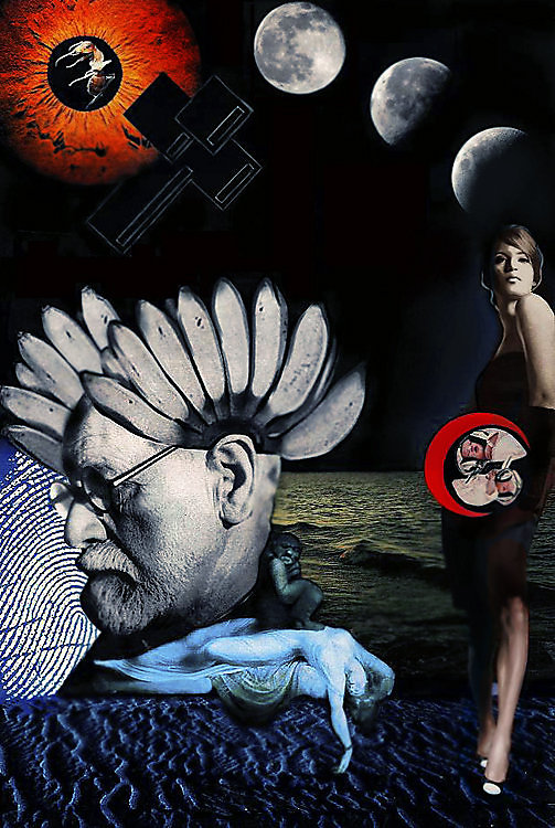 freud-by-dreamcatcheuse-collage-illustration-photomanipulation-contemporary-art-surreal-tribute